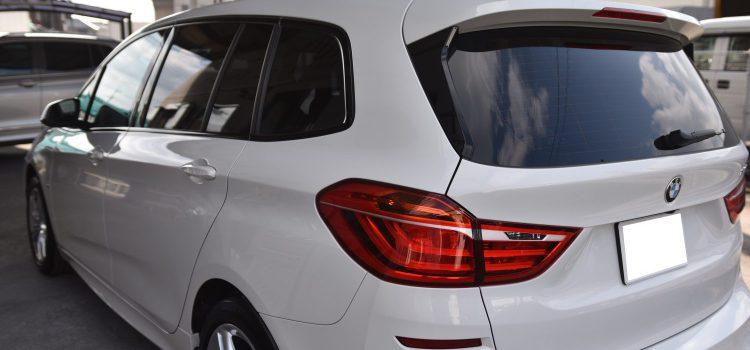 BMW218グランツアラー スモーク遮熱フィルム