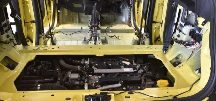 トゥインゴ 車内クリーニング ガラス片除去