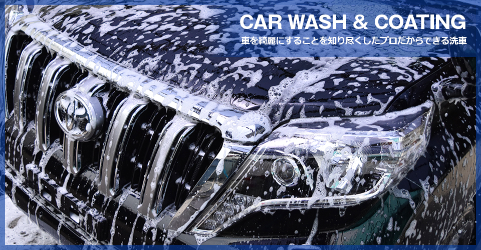 洗車&コーティング