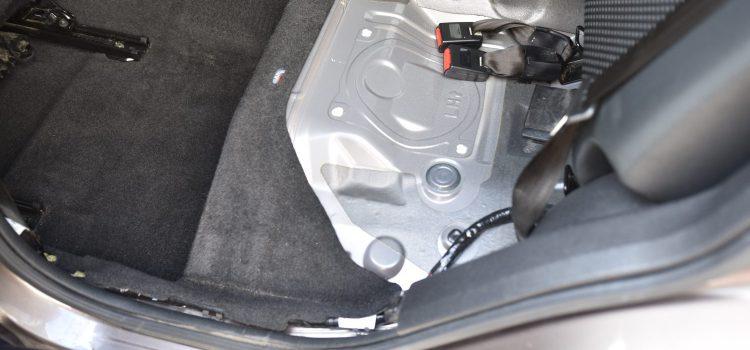 デュアリス 車内クリーニング&消臭 嘔吐