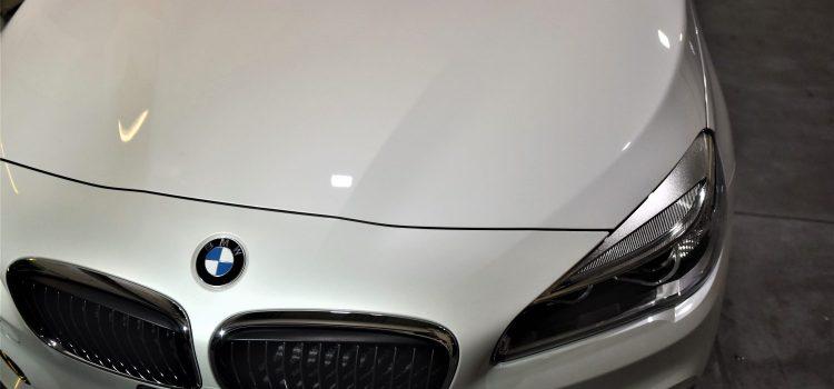 BMW218グランツアラー コーティング 新車割引適用