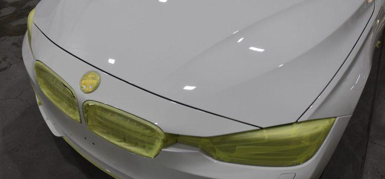 BMW420グランクーペ コーティング スモーク遮熱フィルム