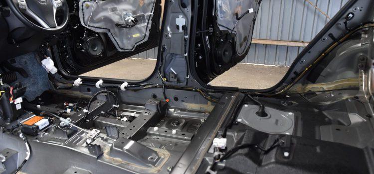 エクストレイル 車内クリーニング&殺菌処理 カビ