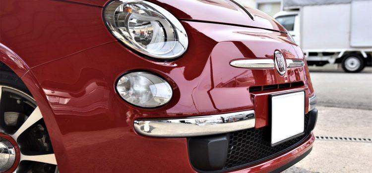 FIAT500 再コーティング