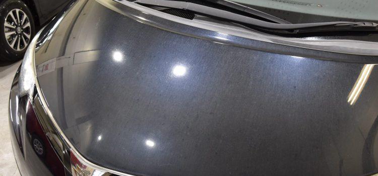 エスティマ 鉄粉除去+研磨処理