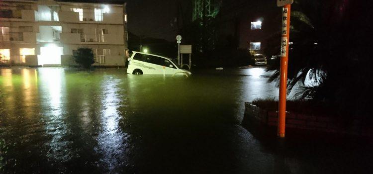 お車の水没被害に遭われた方へ